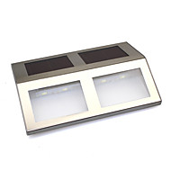 preiswerte LED Solarleuchten-Solarstrom 4 SMD LED-Dock pfad Schritt Verkehrssicherheit Markierungssignalleuchten