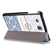 Three Folds PU Leather Case with Sleep for Sumsang TAB A 10.1(2016)/TAB A 7.0/TAB E 8.0/TAB E 9.6(Assorted Colors)