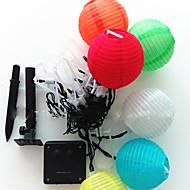 halpa LED-hehkulamput-4,8m aurinko led-valot 20led pallo loma koristeluun lamppu festivaali valot ulkovalaistus