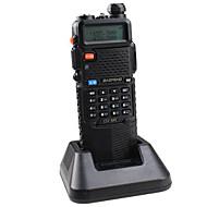 보풍 UV-5R-5W+3800L-black 워키 토키 4W / 1W (Max 5W) 128 136-174MHz / 400-520MHz 3800mAh 3KM-5KMFM 라디오 / 비상 알람 / PC 소프트웨어 프로그램 작동 가능   / 전원 절약