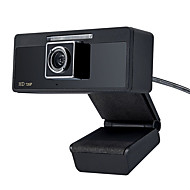 USB 2.0 HD CMOS webcam em 1280x720 30fps com microfone