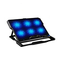 cheap Laptop Cooling Fans-Six Fans Ergonomic Cooler Cooling Pad With Stand Holder for Laptop Notebook