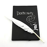 Κοσμήματα Εμπνευσμένη από Death Note Cosplay Anime Αξεσουάρ για Στολές Ηρώων Κολιέ Μαύρο Κράμα Ανδρικά / Γυναικεία