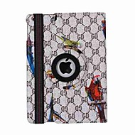 Bird Pattern 360 Degree Rotation PU Leather Case for iPad 5/iPad Air(Assorted Colors)