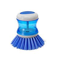 abordables Escobillas y cepillos de mano-Alta calidad 1pc El plastico Removedor de Pelusa y Cepillo Utensilios, Cocina Limpiando suministros