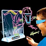 Tablice i tablety do rysowania LED 3D Dinozaur Urodziny Dziecięce Boże Narodzenie Urodziny Prezent Action & Toy Figures Gry akcji