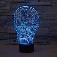 billige Originale LED-lamper-1 stk 3D natlys Usb Dæmpbar 5 V