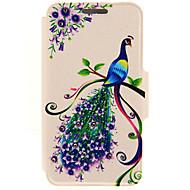 Для Кейс для Huawei / P9 / P9 Lite Бумажник для карт / Стразы / со стендом Кейс для Чехол Кейс для Животный принт ТвердыйИскусственная