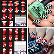 Nail Art matrica DIY Mold smink Kozmetika Nail Art Design