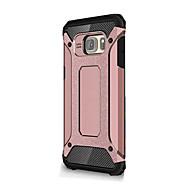 お買い得  携帯電話ケース-ケース 用途 Samsung Galaxy Samsung Galaxy Note7 耐衝撃 バックカバー 鎧 ソフト シリコーン のために Note 7 / Note 5 / Note 4