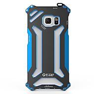 Mert Samsung Galaxy tok Ütésálló Case Hátlap Case Páncél Fém Samsung S6