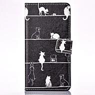 Для Кейс для  Samsung Galaxy Кошелек / Бумажник для карт / со стендом / Флип Кейс для Чехол Кейс для Other Твердый Искусственная кожа