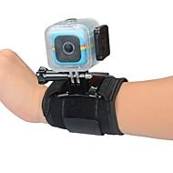 Olkaimilla Rannehihna Sukelluskotelo Case Yksijalkainen jalusta Kiinnitys Vedenkestävä varten Toimintakamera Polaroid Cube Universaali