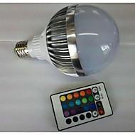 お買い得  LED ボール型電球-700-900 lm E26 / E27 LEDボール型電球 G80 1 LEDビーズ ハイパワーLED リモコン操作 RGB 85-265 V / 1個