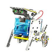 preiswerte Spielzeuge & Spiele-neje 14 in 1 solarbetriebene Roboter Muster Baustein Montage diy