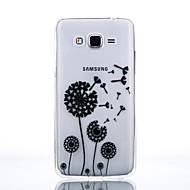 Для Кейс для  Samsung Galaxy Прозрачный Кейс для Задняя крышка Кейс для Одуванчик Мягкий TPU SamsungJ7 / J5 (2016) / J5 / J3 (2016) /