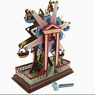 tanie Zabawki & hobby-Odstresowywujący Zabawka nakręcana Zabawki Okrągły Wiatrak Znane budynki Metal 1 Sztuk Święta Bożego Narodzenia Urodziny Dzień Dziecka