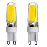 3W G9 Luci LED Bi-pin T 1 leds COB Oscurabile Decorativo Bianco caldo Luce fredda Bianco 300-350lm 3000-6000K AC 220-240 AC 110-130V