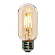 1pc 4w e27 t45 stil edison antic led bec filament tubular (220-240v)