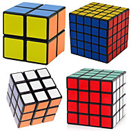 cheap Educational Toys-4 PCS Magic Cube IQ Cube Shengshou 2*2*2 3*3*3 4*4*4 Smooth Speed Cube Magic Cube Puzzle Cube Professional Level Speed Classic & Timeless Kid's Adults' Toy Boys' Girls' Gift