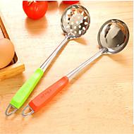 halpa -2 Creative Kitchen Gadget Ruostumaton teräs / Muovi Työkalusarjat