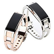 여성용 팔찌 시계 패션 시계 스마트 시계 디지털 알람 달력 리모콘 LED 만보기 피트니스 트렉커 스톱워치 합금 밴드 사치 멋진 실버 골드