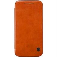 For Motorola etui Kortholder Flip Etui Heldækkende Etui Helfarve Hårdt Ægte læder for Motorola Moto X Play