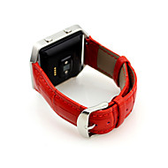 Недорогие Аксессуары для смарт-часов-Ремешок для часов для Fitbit Blaze Fitbit Спортивный ремешок Металл / Кожа Повязка на запястье
