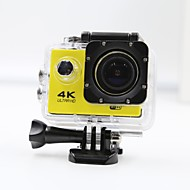 cheap Sports & Outdoors-Sports Action Camera 4K  WIFI Waterproof 12MP High Defenition 2.0 Inch Sports DV 170 Degree  Yellow