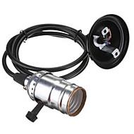 소켓 스위치 E27 에디슨 복고풍 펜던트 램프 홀더 (110 / 220V)