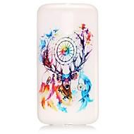 preiswerte Handyhüllen-Hülle Für Andere Motorola Motorola Hülle Im Dunkeln leuchtend Rückseite Traumfänger Weich TPU für Moto G4 Play