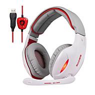 Sades SA902 Kopfhörer (Kopfband)ForMedia Player/Tablet PC / ComputerWithMit Mikrofon / DJ / Lautstärkeregler / FM-Radio / Spielen / Sport