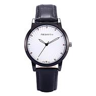 Недорогие Фирменные часы-REBIRTH Жен. Модные часы / Наручные часы / PU Группа На каждый день / минималист Черный / Красный / Коричневый