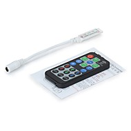 19 teclas mini LED RGB controlador con control remoto inalámbrico fr para SMD 3528 5050 RGB LED tira LED (CC 12-24)