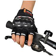 Moottoripyöräily käsineet semi sormi maastohiihdon kesän ratsastus moottoripyörän semi sormi ratsastaja käsineet