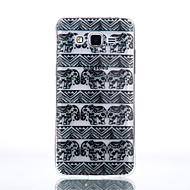 Для Кейс для  Samsung Galaxy Прозрачный Кейс для Задняя крышка Кейс для Слон Мягкий TPU SamsungJ7 / J5 (2016) / J5 / J3 (2016) / Grand