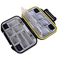 abordables Cajas para Pesca-Caja de pesca Caja de equipamiento Impermeable 1 Bandeja El plastico 3 cm 11.5 cm