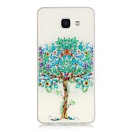 För Samsung Galaxy-fodral Självlysande fodral Skal fodral Träd Mjukt TPU för Samsung A5(2016) A3(2016)