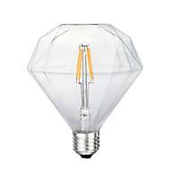 3.5 E26/E27 Izzószálas LED lámpák G125 4 led SMD 5730 Dekoratív Sárga 280-320lm 2300K AC 220-240V