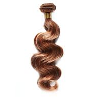 Недорогие Накладки и пряди-Индийские волосы Естественные кудри Ткет человеческих волос 1 шт. Горячая распродажа 0.1