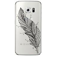 Achterkant Ultradun / Doorzichtig Veren TPU Zacht Geval voor Samsung Galaxy S7 edge / S7 / S6 edge plus / S6 edge / S6 / S5 / S4