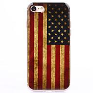 Назначение iPhone 8 iPhone 8 Plus iPhone 7 iPhone 7 Plus iPhone 6 Чехлы панели Прозрачный С узором Задняя крышка Кейс для Флаг Мягкий
