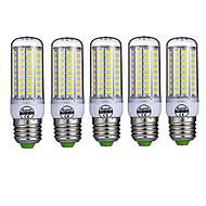 E26/E27 LED Corn Lights T 72 SMD 5730 980lm Warm White Cold White 2700-6500K Decorative AC 220-240V
