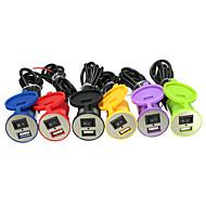 abordables Cargadores para Coche-1 Puerto USB Solo Cargador DC 5V/2.1A