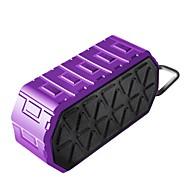 preiswerte Lautsprecher-X80 Outdoor Wasserdicht Bluetooth Bluetooth 3.0 3.5 mm AUX USB Subwoofer Schwarz Purpur Grün