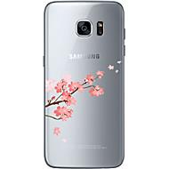 billiga Skal- och fodral till Samsung-fodral Till Samsung Galaxy Samsung Galaxy S7 Edge Mönster Skal Blomma Mjukt TPU för S7 edge S7 S6 edge plus S6 edge S6