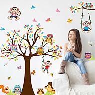 정물화 벽 스티커 플레인 월스티커 데코레이티브 월 스티커,PVC 자료 이동가능 / 재부착가능 홈 장식 벽 데칼
