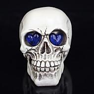 1db halloween dekoráció újdonság játékok gyanta koponya szeme, szellem egy éjszakai fény