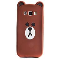 Для Кейс для  Samsung Galaxy Чехлы панели С узором Задняя крышка Кейс для 3D в мультяшном стиле Мягкий Силикон для SamsungA7(2016)