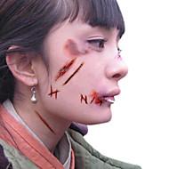 5pcs Tetkó matricák Mások Mintás / Mindszentek napja / 3DBaba / Gyerek / Női / Girl / Férfi / Felnőtt / Boy / Tini flash-Tattooideiglenes